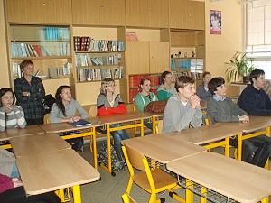 Studenti na besedě s honorátním konzulem RF